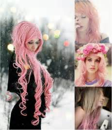 can color their hair sweet colored hairstyles you can try with pink hair