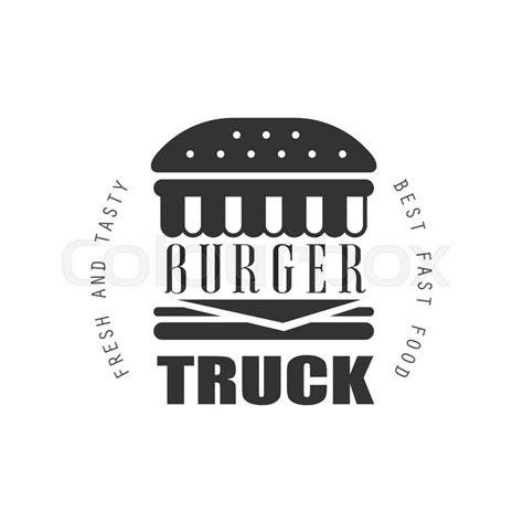 design food truck logo fresh and tasty burger food truck logo graphic design