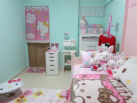 hello kitty accessories for bedroom hello kitty bedroom idea for your cute little girl