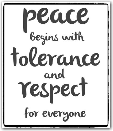 tolerance quotes tolerance quotes tolerance sayings tolerance picture