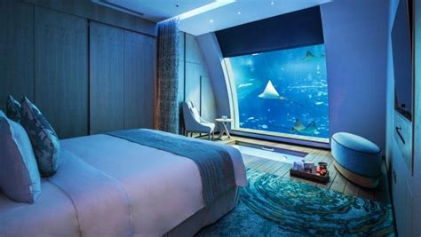 best hotel rooms in the world top10 best underwater hotels in the world the luxury travel expert