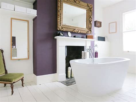 accent wall bathroom 23 amazing purple bathroom ideas photos inspirations