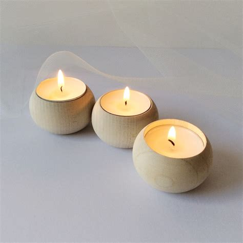 tea light holder wooden tea light holders interior design ideas