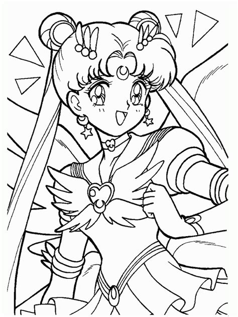 moon coloring page pdf sailor moon coloring pages sailor moon coloring pages
