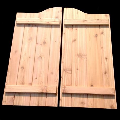 wooden swing doors 1000 ideas about swinging doors on pinterest swinging