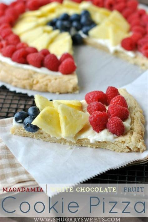 c fruit philadelphia macadamia cookie pizza recipe pizza and blue