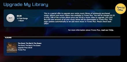 Emi To Offer Drm Free Through Itunes by Itunes Plus And Emi S Drm Free On