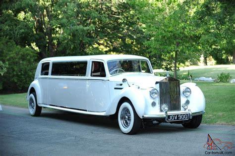 stretch bentley limo 1949 bentley vi saloon chassis rolls royce 100