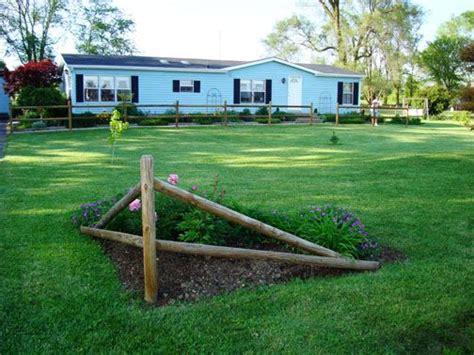 image result for split rail corner fence landscaping ideas the garden pinterest