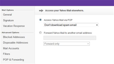 change email format yahoo mail yahoo mail brings pop disposable ids mail forwarding and