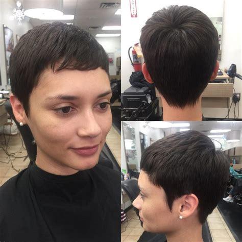 super short haircuts   totally