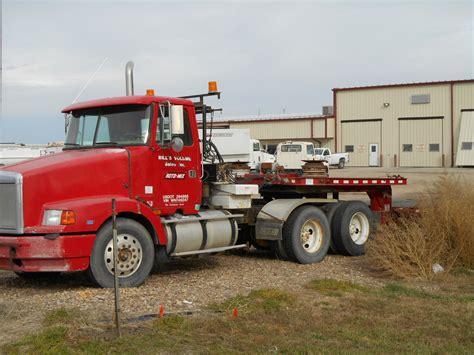 used volvo semi used 1998 volvo semi tractor w trailman trailer