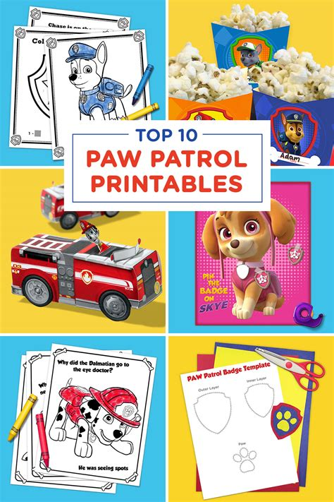 Paw Patrol My Library paw patrol printable pictures 2553004