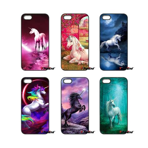 cute themes for moto e cute rainbow unicorn horse animal hard phone case for moto