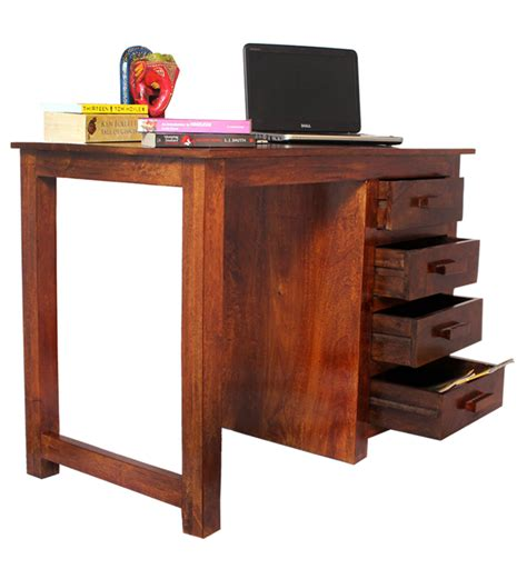 wood study table olida mango wood study table by mudramark study