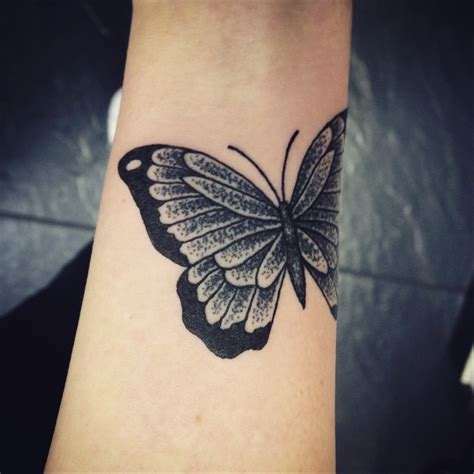 black and grey butterfly tattoo designs 22 dotwork images design and ideas