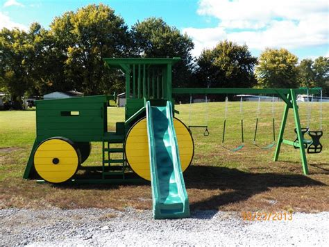 Awesome Tractor Swing Set T Rav Pinterest Kids S
