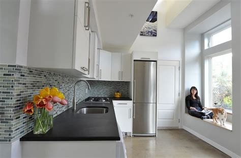 couple living in 500 square foot small house by smallworks studios beautiful kitchen small home decorating ideas