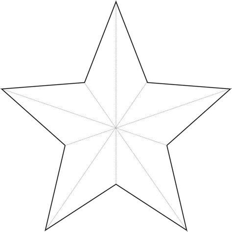 star template crafts pinterest