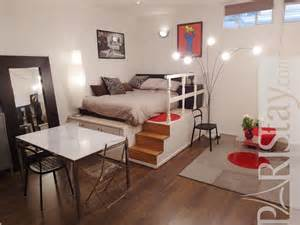 victor hugo large studio apartment for rent etoile