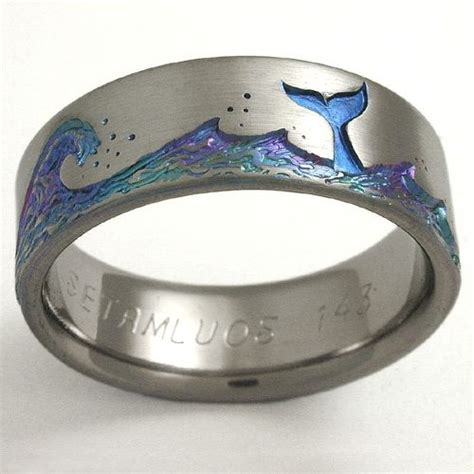 Titan Ring by Titanium Wedding Ring By Exotica Jewelry Wedding D