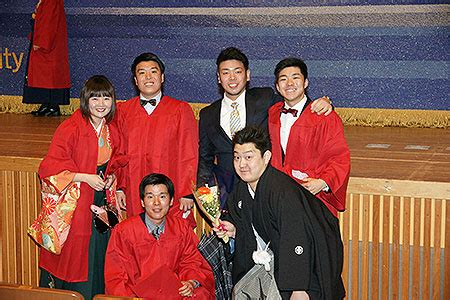 Apu Mba Japan by The 2016 Graduation Ceremony Ritsumeikan Asia