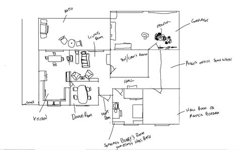 king of the hill house floor plan a detailed look at the hill s residence sitcoms message boards forums