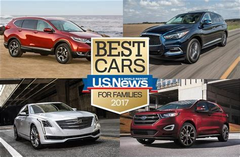 cheap comfortable cars 2017 best cars for families u s news world report