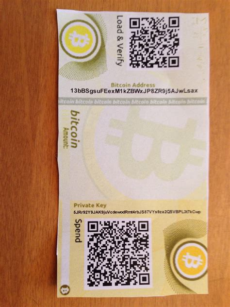 How To Make A Paper Wallet Bitcoin - how to create a bitcoin paper wallet