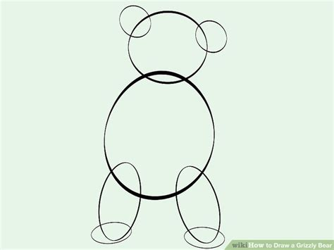lotso bear coloring pages image titled draw a grizzly bear step 5 lotso bear