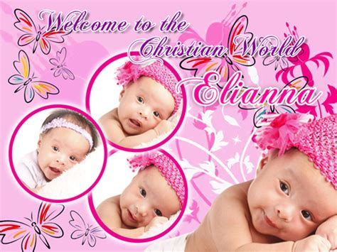 tarpaulin layout design for christening elianna baptism draft creative design makati