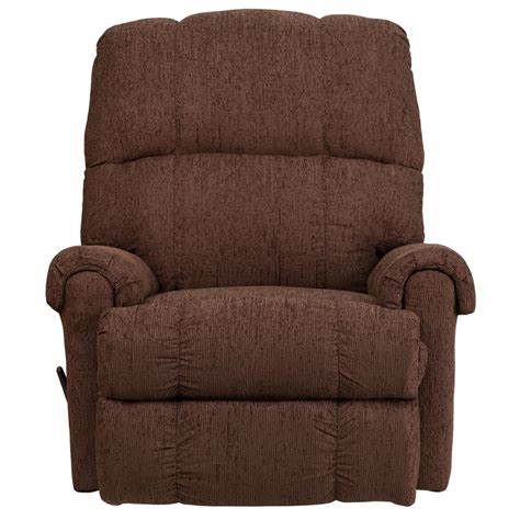 Chenille Rocker Recliner contemporary couger chocolate chenille rocker recliner wm 8700 544 gg by flash furniture