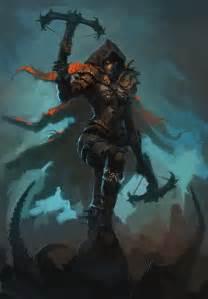 diablo fan art watch 268 the demon hunter vii diablo 2