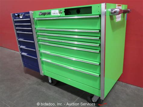 snap on 14 drawer portable tool cabinet shop equipment
