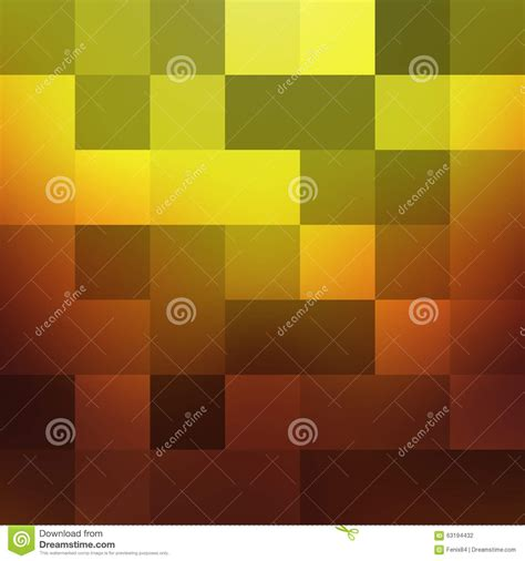 pattern color change abstract geometric background in warm tones stock vector