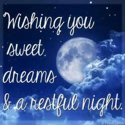 Dreams and a restful night quot quote via www facebook com fionachilds