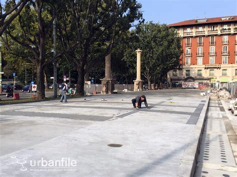 zona porta venezia zona porta venezia i lavori in piazza oberdan