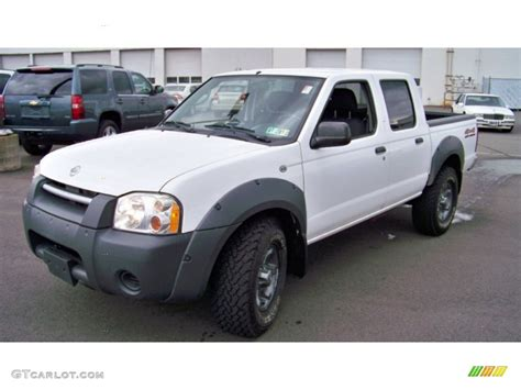 white nissan frontier 2002 cloud white nissan frontier xe crew cab 4x4 54850990