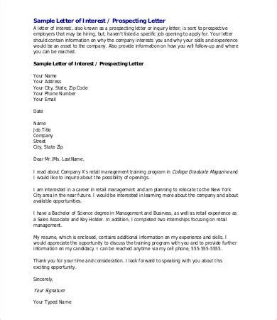 10 business letter of intent templates free sample example