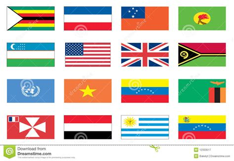 flags of the world that are similar flags of the world 8 of 8 royalty free stock photography