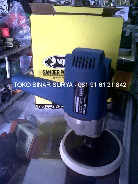 Mesin Poles Polisher Modern 7 M3200c sell polisher from indonesia by toko sinar surya bali cheap price
