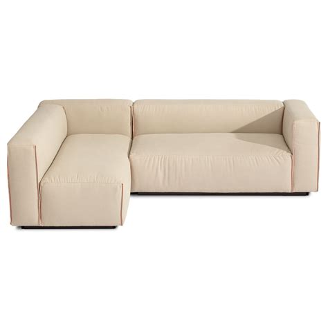 small armless sectional sofa