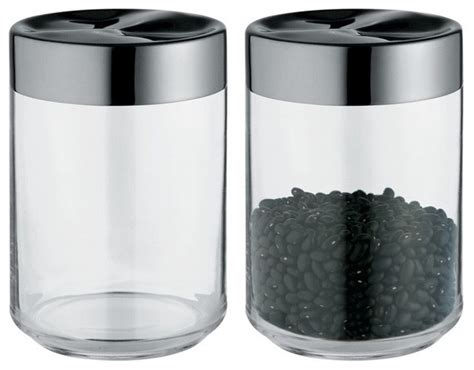 stylish food storage containers for the modern kitchen alessi julieta kitchen jar large modern food