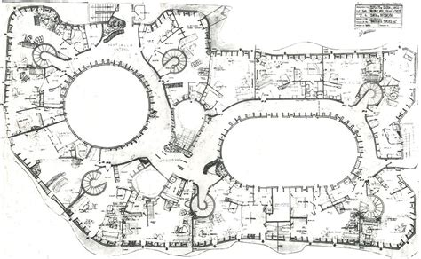 casa mila floor plan casa mil 224 barcelona spain antonio gaudi 1906 1912 classic floor plans pinterest