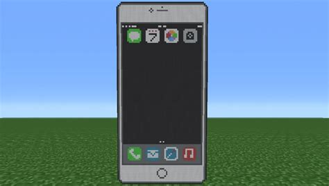 Minecraft Iphone 6 6s minecraft tutorial how to make an iphone 6