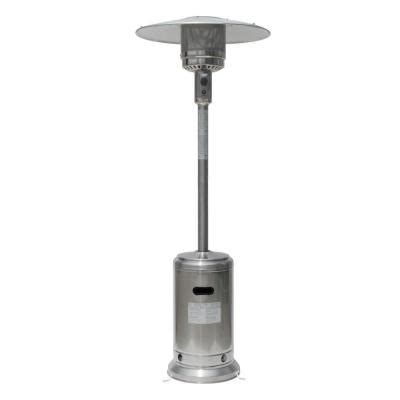 gardensun 41 000 btu stainless steel propane patio heater