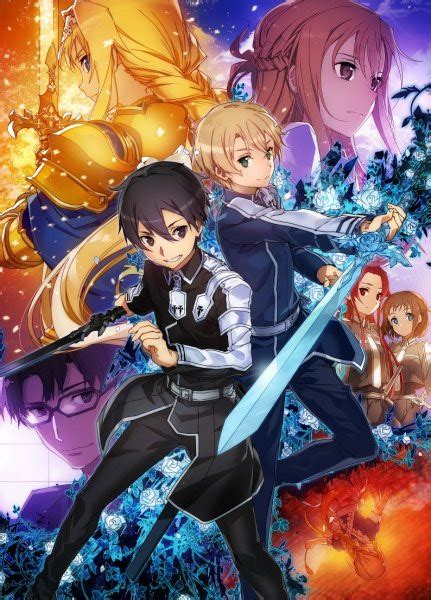 sword 2 new season anime crunchyroll quot sword alicization quot announced as newest sword tv anime