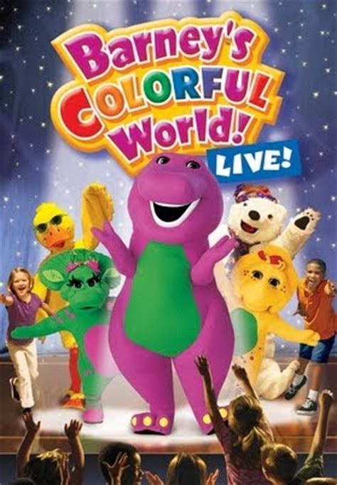barney colorful world barney s colorful world live tv on play