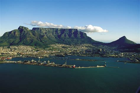 Table Mountain Cape Town by Cape Town Travel Visit Places Travel Visit