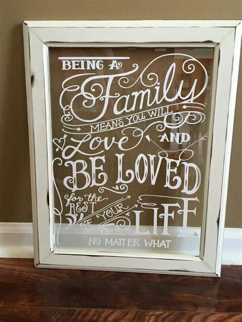frames with vinyl family sayings vinyl decals on an window vinyl